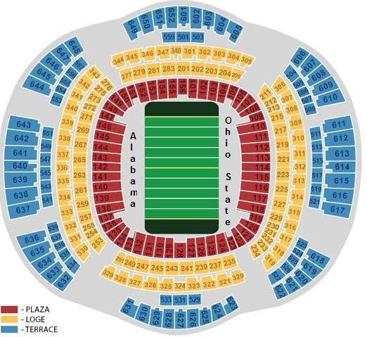 Mercedes Benz Superdome New Orleans La: VIP Access Sugar Bowl Hospitality