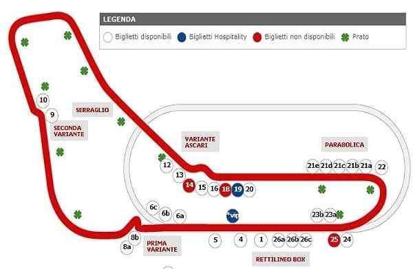 VIP Access Italian Paddock Club F1 Monza Grand Prix Corporate