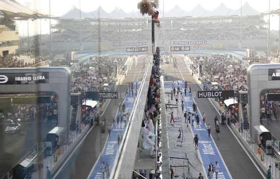 Vip Access Abu Dhabi F1 Paddock Club Etihad Airways Grand