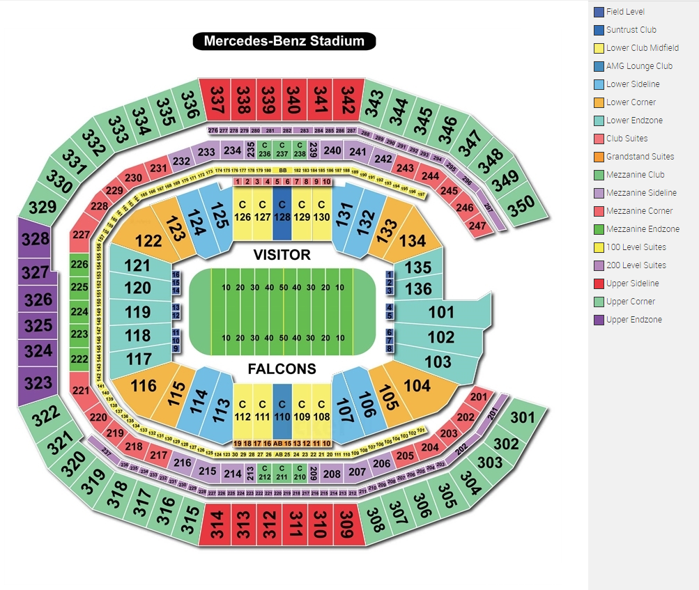 Vip access super bowl tickets luxury hotel packages for Hotels near mercedes benz stadium atlanta