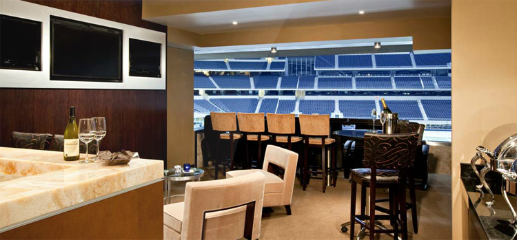 Rams Suite Edwards Jones Dome