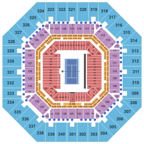 VIP Access US OPEN | Tennis | Courtside | Quarterfinals tickets Men ...